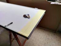 Modifica pannello su vecchia porta blindata