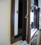 Infissi: finestra a battente in alluminio-legno