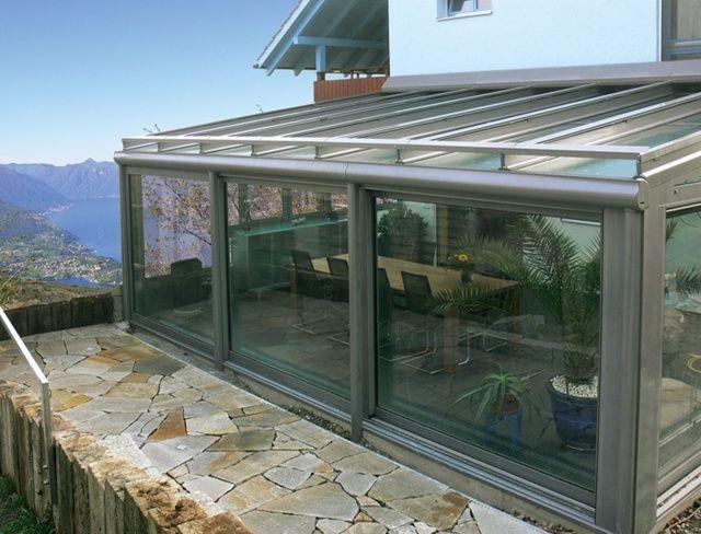 Verande e giardini d 39 inverno in alluminio - Giardino d inverno permessi ...