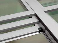 Giardino d'inverno in alluminio tetto