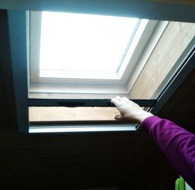 Zanzariera avvolgibile per lucernario - Riparazione finestre vasistas ...